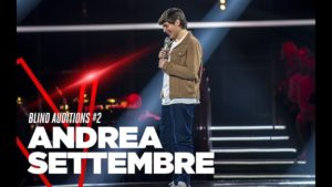 Andrea Settembre _The Voice of Italy _ Showtime Academy